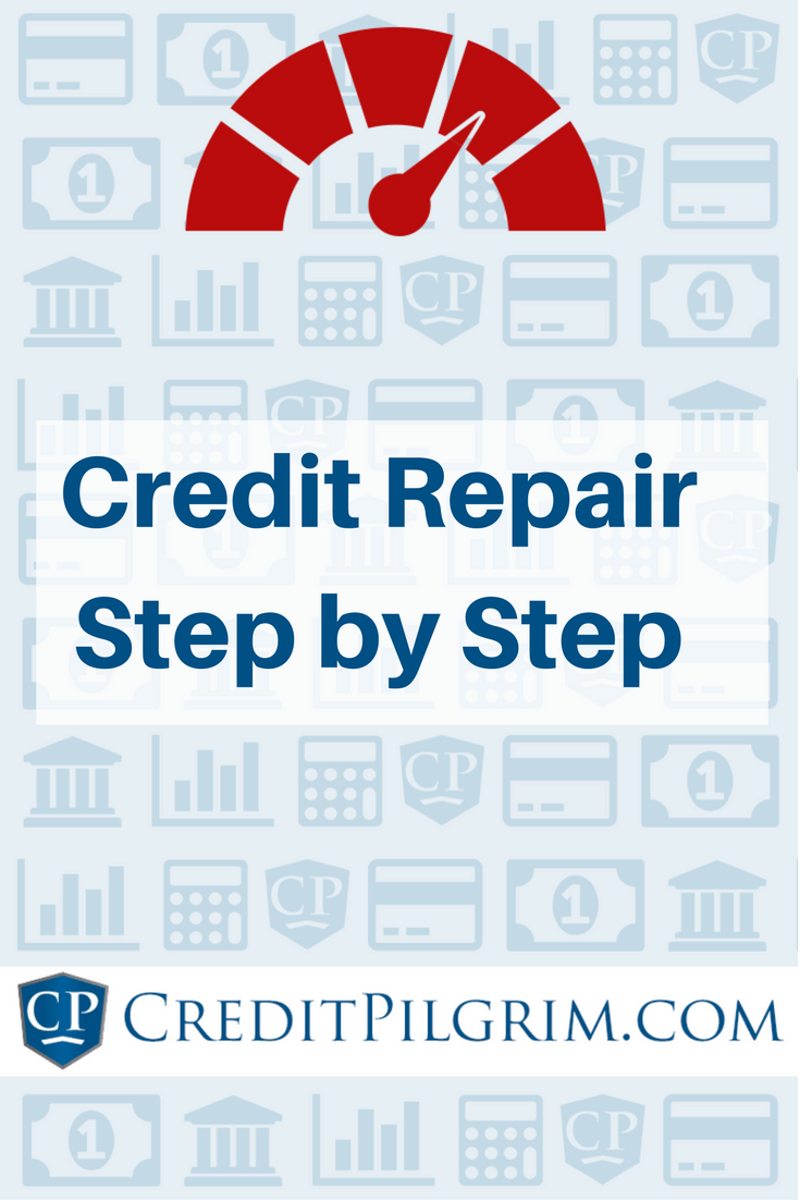 Follow the steps in this credit repair detailed guide and you can expect a significant improvement in your credit score.